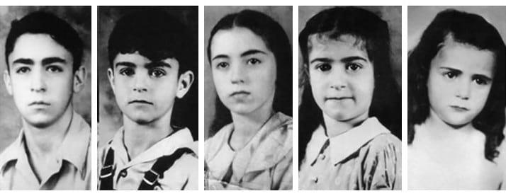 The five missing Sodder Children.