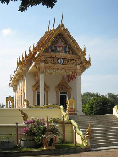 The Wat Khunaram temple of Ko Samui.