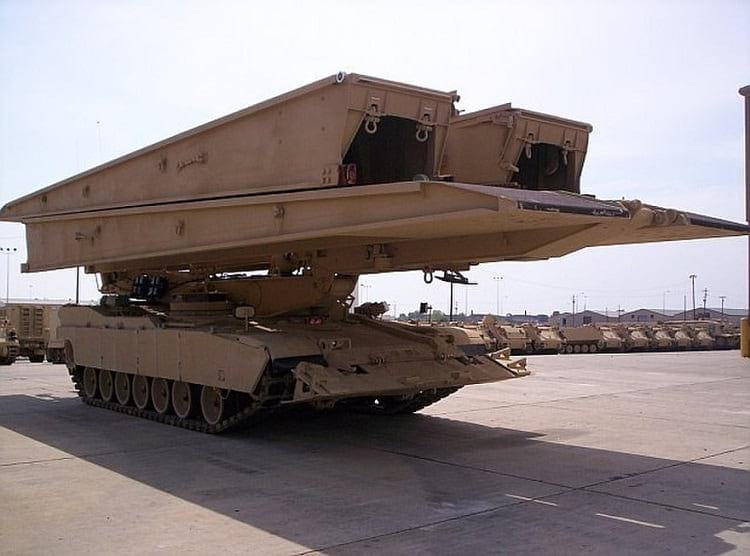 The M104 Wolverine in undeployed state.