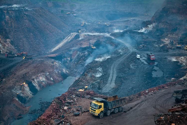 Jharia coal field.